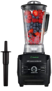 Roll over image to zoom in VIDEO Cleanblend Commercial Blender - 64 Oz Countertop Blender