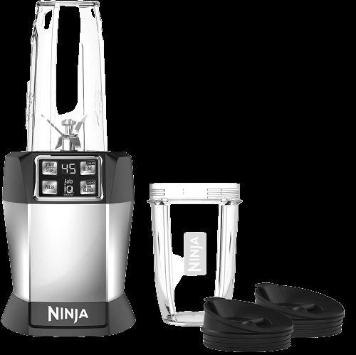 Ninja BL480D Nutri 1000 Watt Auto-IQ Base for Juices, Shakes & Smoothies Personal Blender