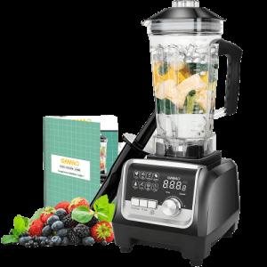 best blender for ice OMMO Blender 1800w, Professional Countertop Blender