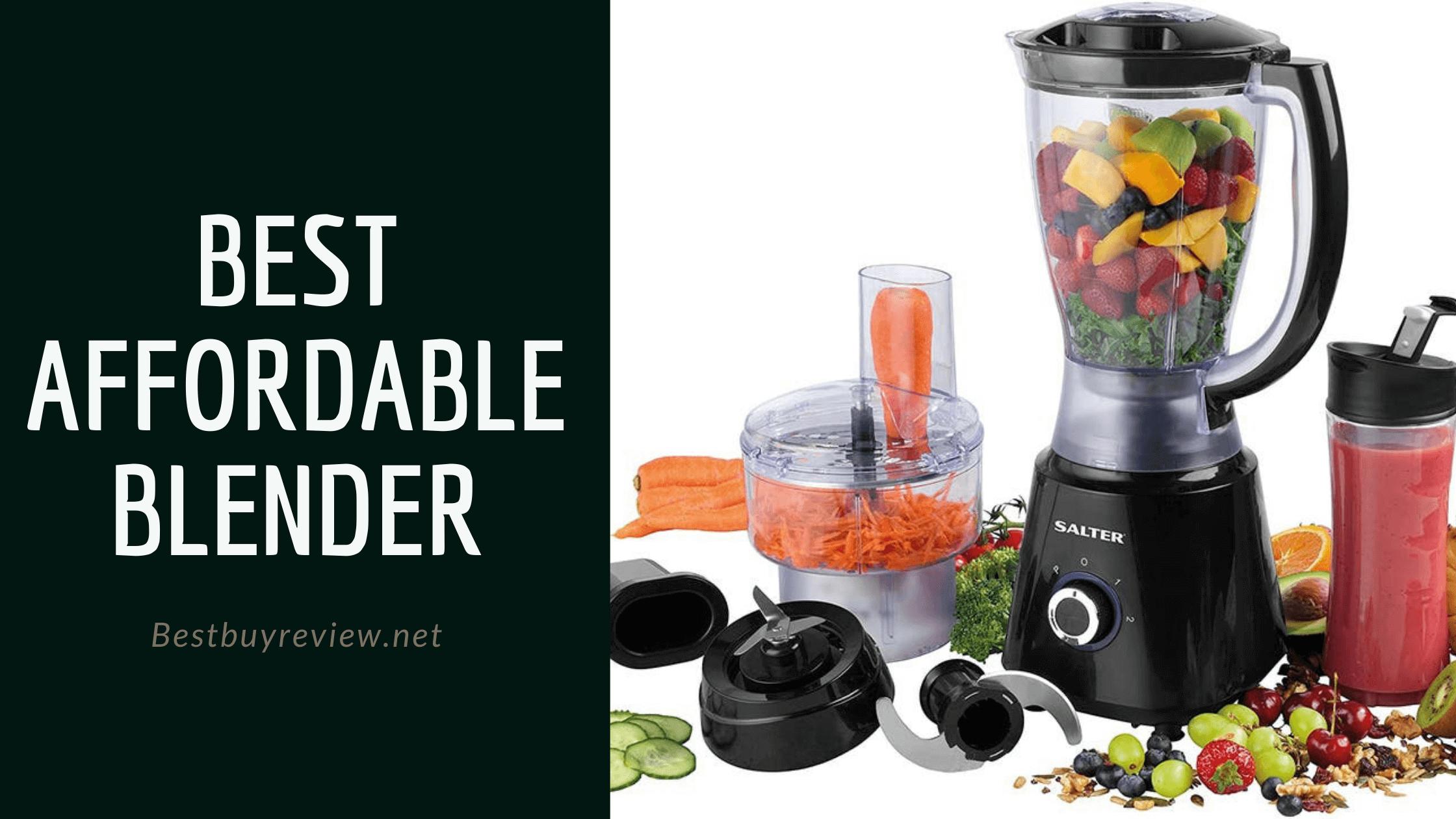 Best Affordable Blender