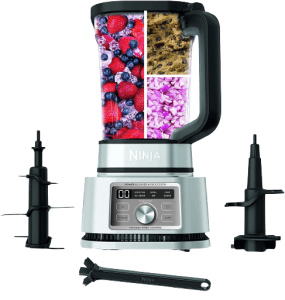 Ninja Foodi SS201 Power Blender & Processor. 3-in-1 Crushing Blender