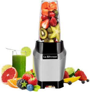 La Reveuse Personal Blender Making Shakes and Smoothies